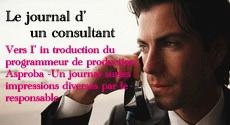 Le journal d'un consultant